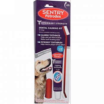 Sentry Petrodex Dental Calming Kit For Dogs