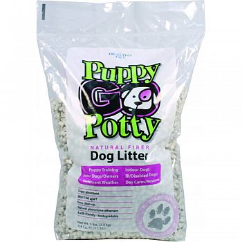 Puppy Go Potty Natural Fiber Dog Litter