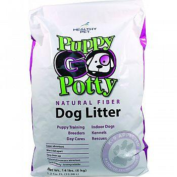 Puppy Go Potty Natural Fiber Dog L New Item   1231