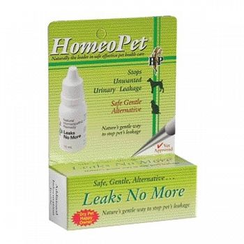 HomeoPet Leaks No More 15 ml
