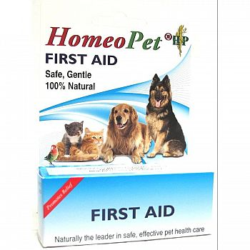 Homeopathic First Aid for Pets - 15 ml