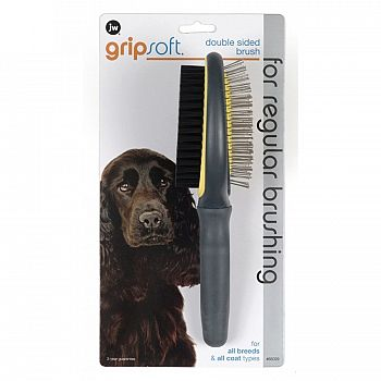 GripSoft Double-Sided Pet Brush