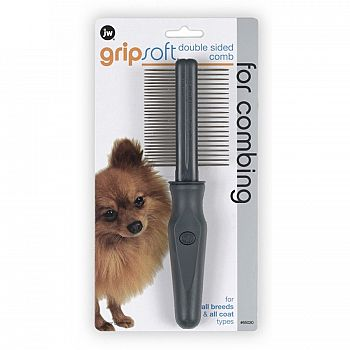 GripSoft Double Sided Pet Comb