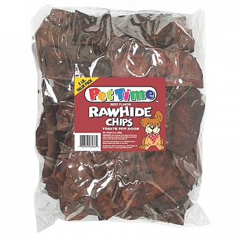Rawhide Chips for Dogs - 2 lbs