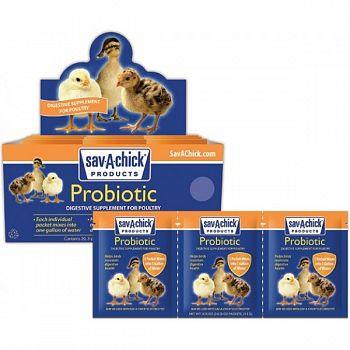 Sav-a-chick Probiotic Supplement - 3 pk./.25 OZ