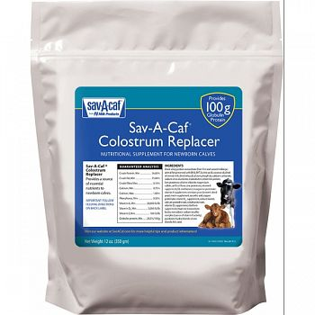 Sav-a-caf Colostrum Replacer 100  350 GRAM