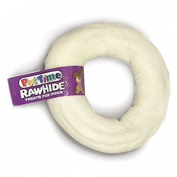 Rawhide Donut for Dogs - 4 inch