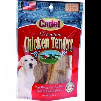 Cadet Premium Chicken Tenders Dog Treats  3 OUNCE