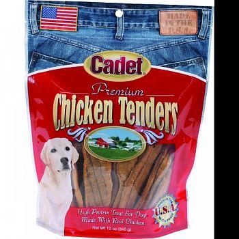 Cadet Premium Chicken Tenders Dog Treats  12 OUNCE