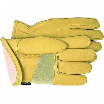 Lined Grain Leather Gloves (Case of 6)
