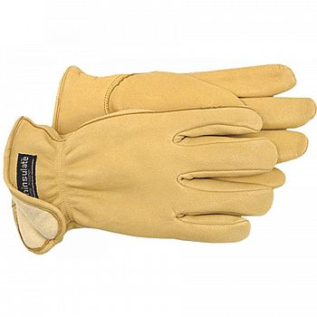 Grain Deerskin Glove with Thinsulate for Men