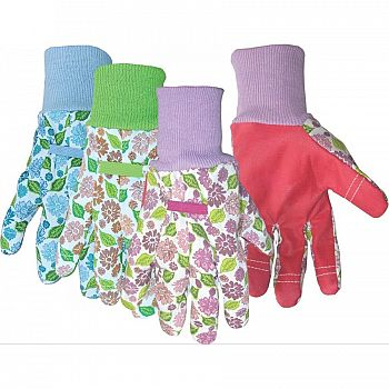 Vinyl Palm Cotton Ladies Gloves (Case of 12)