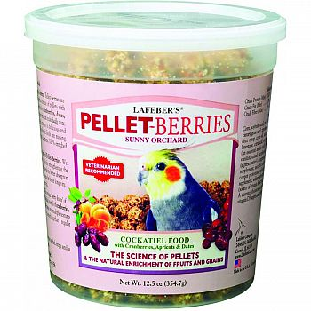 Sunny Orchard Pellet=berries Bird Food
