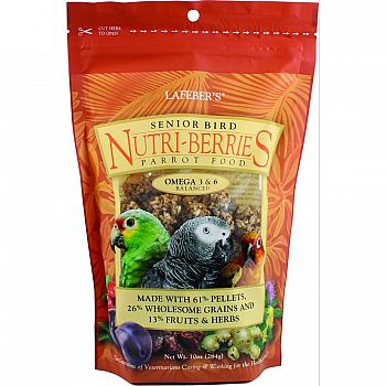 Nutri-berries Senior Bird Food (Case of 12)