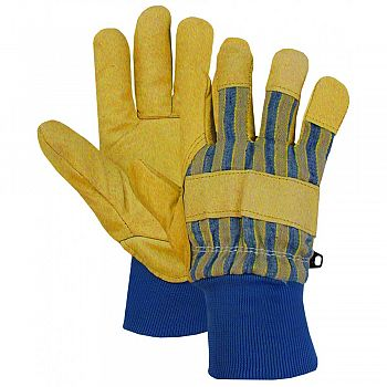 Poly-insulated Pigskin Leather Palm Glove  LARGE (Case of 6)