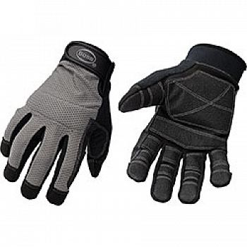 Mesh Back Utility Glove Pvc Palm And Finger (Case of 6)