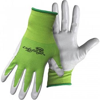 Ladies Nitrile Palm Gloves (Case of 12)