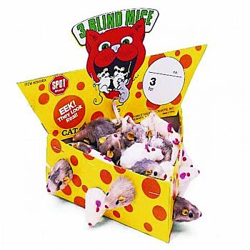 Cheesebox Mice Display  24 PIECE