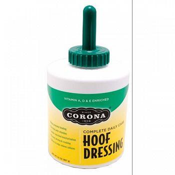 Corona Hoof Dressing With Brush - 32 oz.