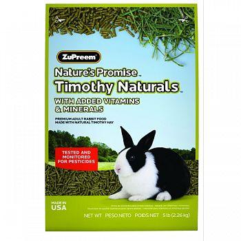 Nature S Promise Timothy Naturals Rabbit Food ADULT RABBIT 5 POUND