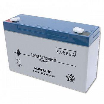 SB1 Solar Replacement Battery for Zareba Fencer