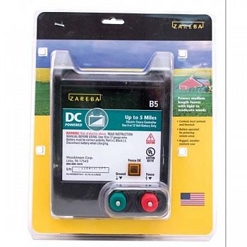 Zareba Battery Operated Solid State Charger - 5 Mile