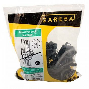 Zareba T-post Pin Lock Insulator - 25 pk.