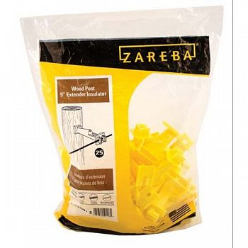 Zareba Wood Post 5  Extender Insulator - 25 pk.