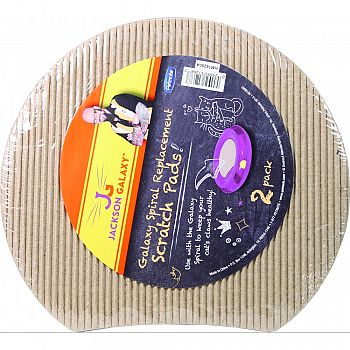 Galaxy Spiral Replacement Scratch Pads For Cats
