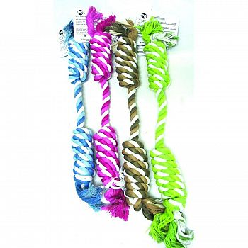 Mega Twister Double Twisted Rope Dog Toy - 19 in.