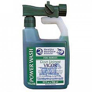 Vigor Green Liniment Horse Power Wash 32 oz