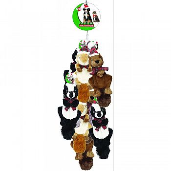 Holiday Crinklers Forest Animals ASSORTED  (Case of 12)
