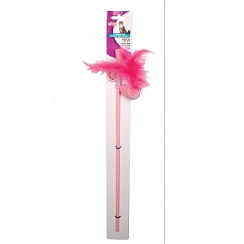 Spot Flicker Fun Feather Bird Wand