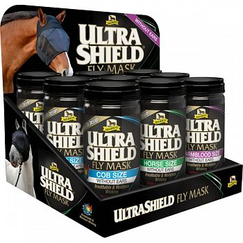 Ultrashield Fly Mask Display Without Ears