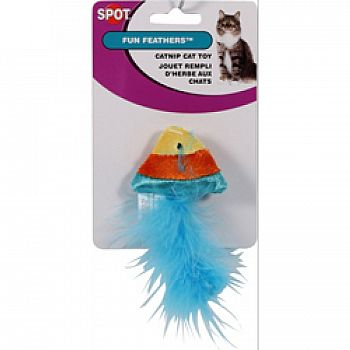 Spot Fun Feathers Catnip Cat Toy