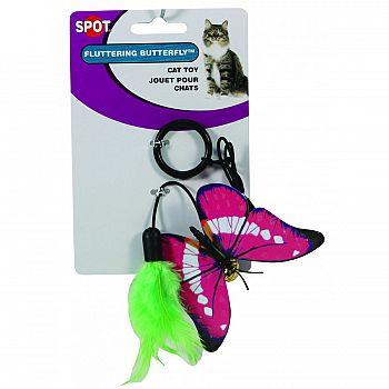 Spot Fluttering Butterfly Ring Cat Toy