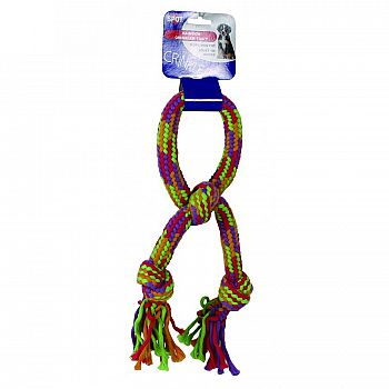 Crinkle Rope Dog Toy
