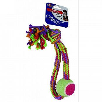Crinkle Rope Tball Tug