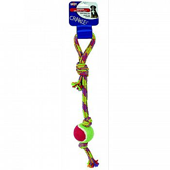 Crinkle Rope Tug With Tball
