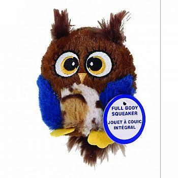 Hoots Owl Plush Asstd