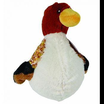Quacks Duck Plush Squeaker Dog Toy ASSORTED 6 INCH