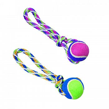 Spot Rainbow Twister Tennis Ball Tug