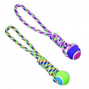 Spot Rainbow Twister Tennis Ball Tug