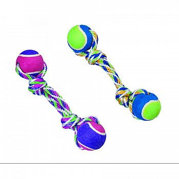 Spot Rainbow Twister 2-ball Dumbell