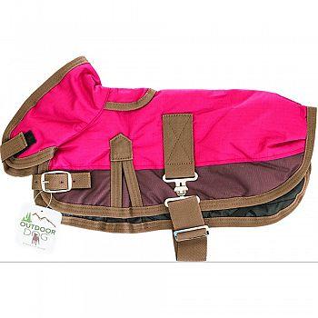 Dog Blanket Coat RED LARGE
