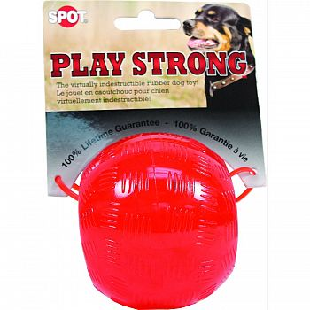 Play Strong Rubber Ball Dog Toy
