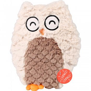 Soft Swirl Plush Owl