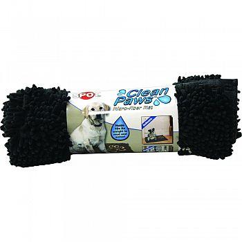 Clean Paws Microfiber Mat GREY 31 X 20 INCH