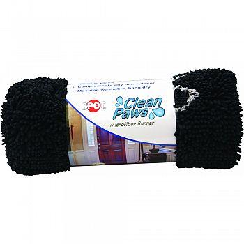 Clean Paws Microfiber Mat GREY 60 X 30 INCH