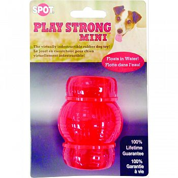 Play Strong Mini Rubber Chew RED SMALL